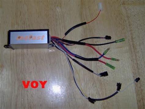 voy  electric scooter  volt controller target owners manual