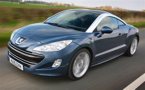 peugeot company car the clarkson review peugeot rcz 2010