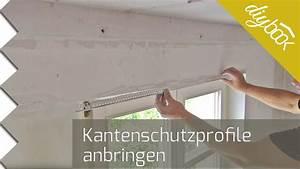 Risse Zwischen Wand Und Decke Reparieren : kantenschutz spachteln putzprofile anbringen youtube ~ Lizthompson.info Haus und Dekorationen