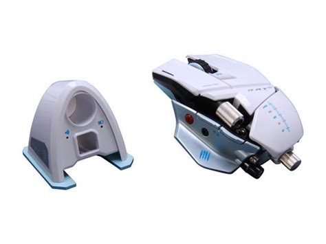 Mad Catz Rat9 Gaming Mouse For Pc And Mac White