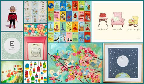 Six Creative Art Ideas For Kids' Rooms Yummymummyclubca