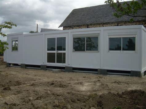 bungalows construction modulaire prefabrique demontable algeco container bureau