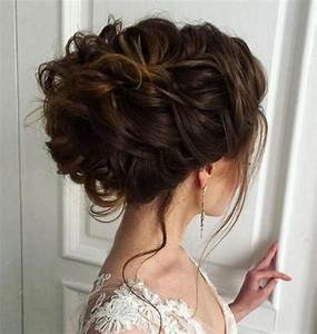 2018 Wedding Updo Hairstyles for Brides Hair Colors for Long Hair HAIRSTYLES