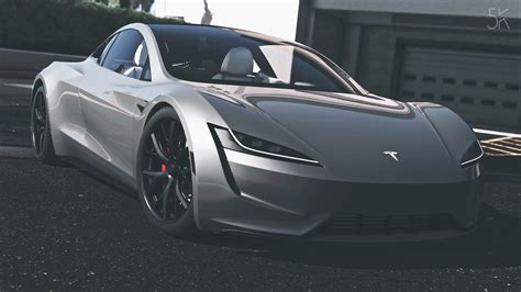2020 Tesla Roadster by Tesla Roadster 2020 Add On Replace Auto Spoiler