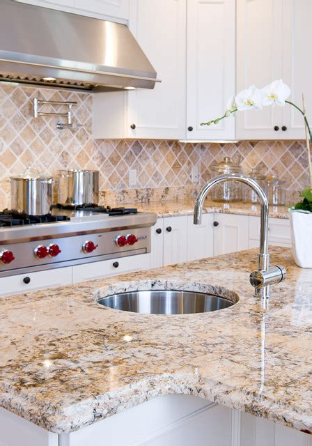 solarius granite countertops traditional kitchen boston