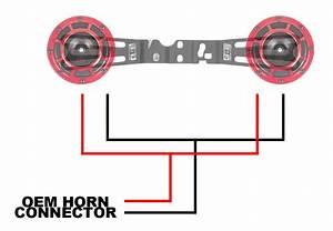Hella Horn Wiring Harness 18  Wrx  Sti
