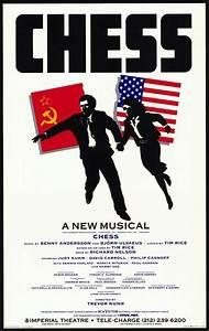Original Chess Musical Poster | CHESS and Politics ...