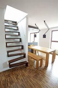 Treppenwangen Holz Kaufen : attic stairs design ideas pros and cons of different types ~ Lizthompson.info Haus und Dekorationen