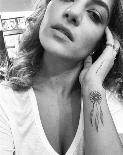 1001 + ideas for a cute and elegant dream catcher tattoo | Tattoos for women, Dream catcher
