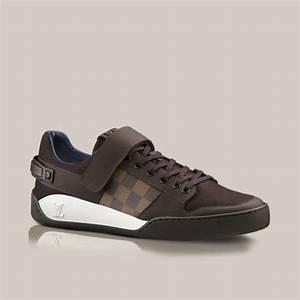 Sneakers Louis Vuitton Homme : elliptic sneaker in damier canvas and flannel louis ~ Nature-et-papiers.com Idées de Décoration