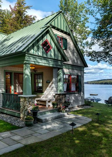 cottages for in maine lakeside maine cottage tms architects