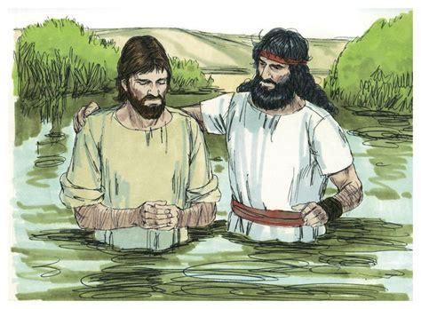 Jesus' Baptism By John