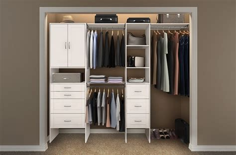 closetmaid closet makeover project before a s take