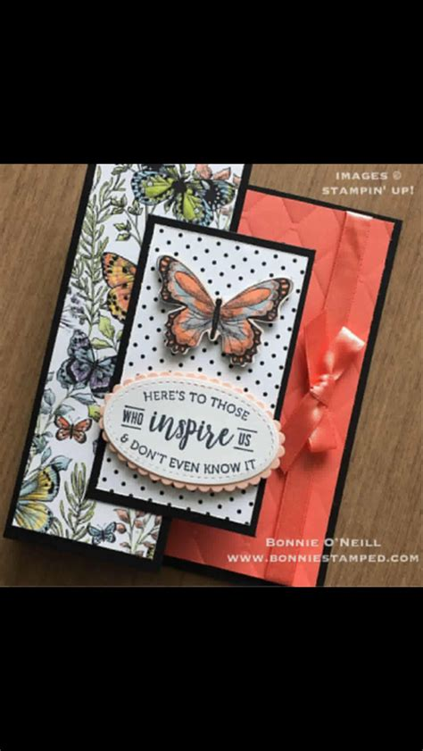 Stampin' Up botanical butterfly dsp Cards handmade