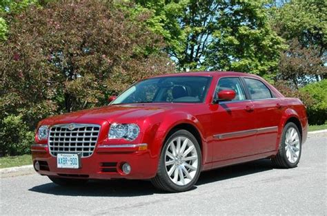 2008 Chrysler 300c by Test Drive 2008 Chrysler 300c With Srt Design Package