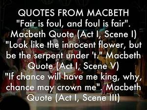 Macbeth by 18mi... Macbeth Scene Quotes