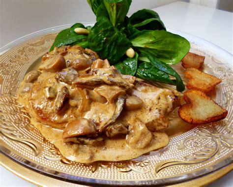 cuisiner cote de veau escalopes de veau à la crème la recette facile par