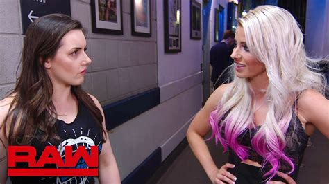 nikki cross  fill   alexa bliss raw