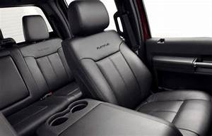 The seats of the new 2013 Ford Super Duty Platinum