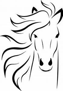 Pferdekopf Schwarz Weiß : die 60 besten bilder von pferde silhouette pferde ~ Watch28wear.com Haus und Dekorationen