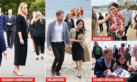 prince harry  meghan markles  bodyguard  heels daily mail