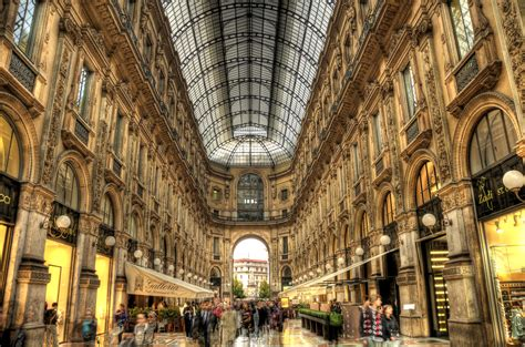 Milan Italy Galleria Hdr Places 2 Explore