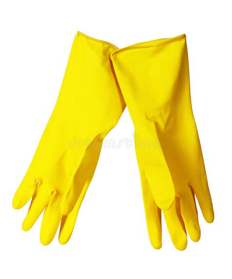 Kitchen Gloves Images by Yellow Kitchen Gloves Stock Photo Image Of Cleanliness