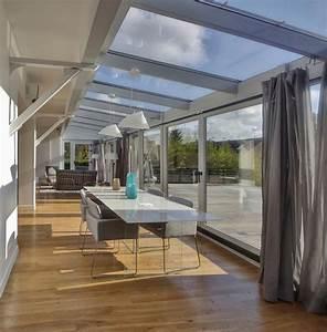 maison renovation luxe veranda boconcept parquet agence With parquet pour veranda