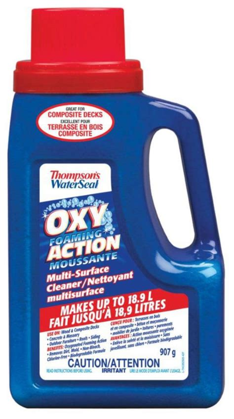 thompsons deck wash home depot thompson s waterseal thompson s waterseal oxy multi