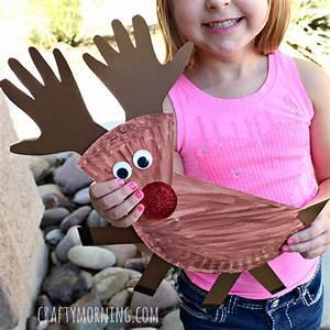 Paper Plate Reindeer Craft for Kids Crafty Morning