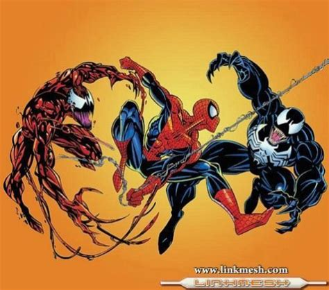 enemigos de spiderman venom
