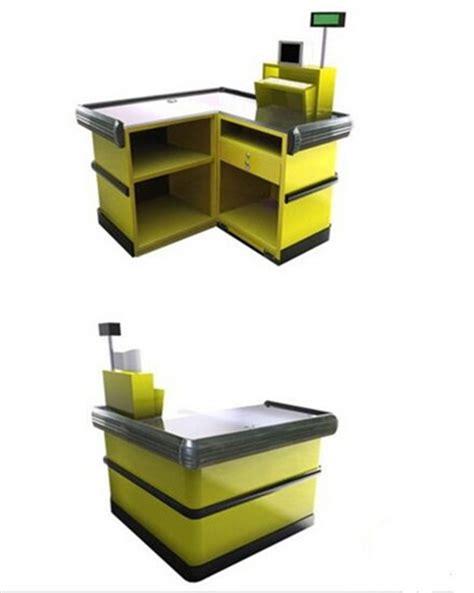 cash register desk for sale supermarket fast checkout counter cash register table