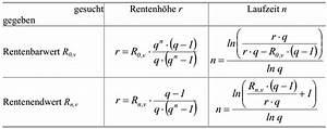 Rente Berechnen : hochschulwiki betriebswirtschaftslehre 2 investitionsrechnung und finanzierung kapitel 2 ~ Themetempest.com Abrechnung