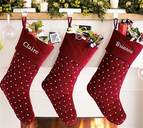 creative christmas stockings decorating ideas