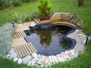 Tendance deco le bassin de jardin for Deco bassin de jardin