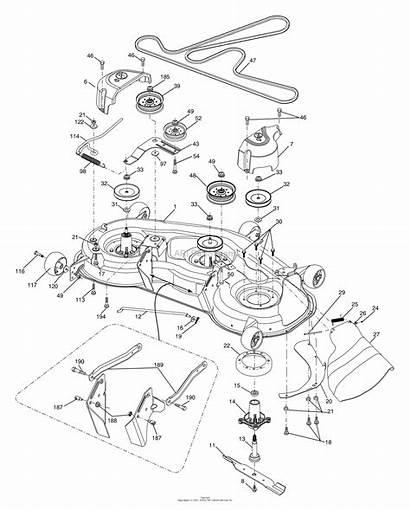 Mower Deck Husqvarna 2448 Yth Parts Diagram
