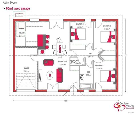 plan appartement 2 chambres best 25 plan maison 3 chambres ideas on plans