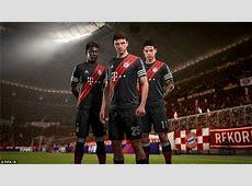 Man Utd, Real Madrid, Juve and Bayern launch FIFA 18 kits
