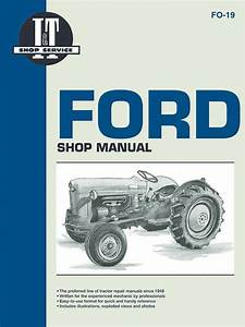 Ford Model Naa  Golden Jubilee  Tractor Service Repair Manual