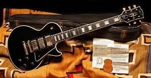 1957 Gibson Les Paul Custom  U0026quot Black Beauty U0026quot