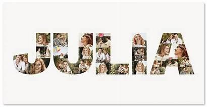 Collage Letras Fotocollage Erstellen Letters Letter Maker