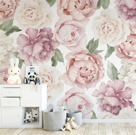 peony  rose wallpaper ginger monkey