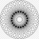 Tessellation Coloring Spiral Pattern Adult Save Favpng sketch template
