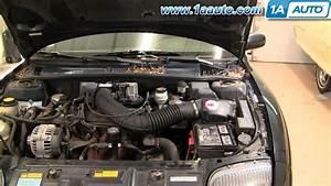 How To Install Replace Intake Hose Chevy Cavalier Pontiac