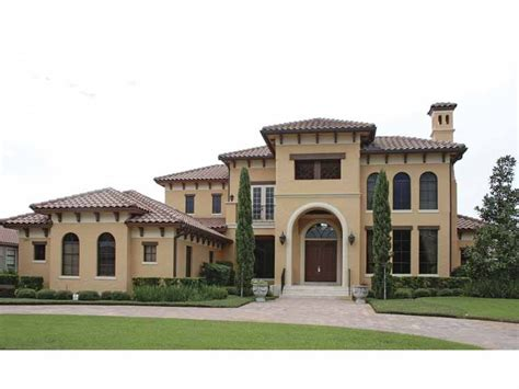mediterranean house plans mediterranean modern house plan with 5921 square and