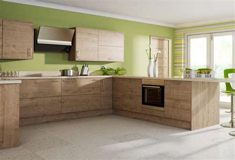 cuisine bois clair moderne cuisine moderne et bois le bois chez vous