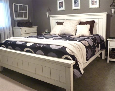 seat cusion white leather king size platform bed frame with tufted