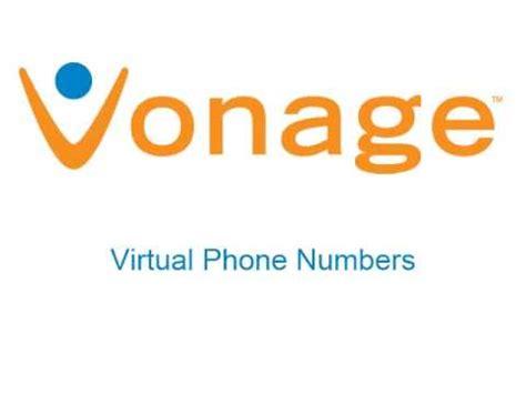 vonage phone number vonage phone number feature