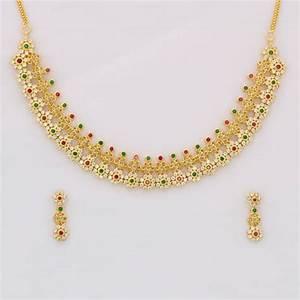 Buy Gold Forming Necklace Set Online