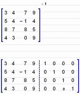 Inverse Matrix 4x4 Berechnen : mathematics ~ Themetempest.com Abrechnung